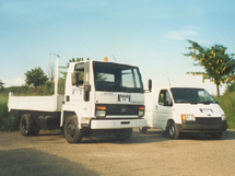 Kenhire 1987 - Hire Vehicles - Ford Cargo Tipper and Transit Van
