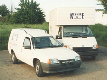 Kenhire 1987 - Rental Vans - Ford Transit Luton and Vauxhall Astramax