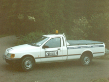 Kenhire 1989 - Hire Vehicle - Ford P100 Pick Up