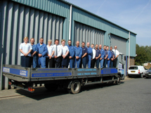Kenhire 2004 - Kenhire Staff on Iveco Dropside Truck