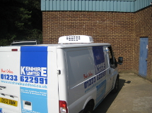 Kenhire 2013 - Refrigerated Contract Hire Van