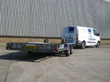 Kenhire 2015 - Hire Van with Car Transporter Trailer