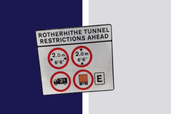Rotherhithe Tunnel Restrictions